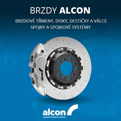 Alcon brzdové třmeny, brzdové disky, brzdové destičky, brzdové válce, spojky, spojkové systémy
