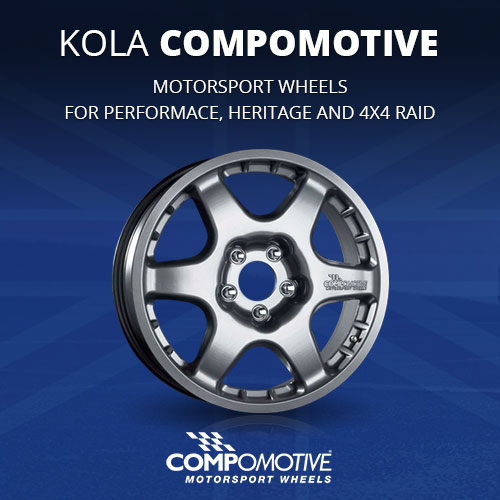 Motorsport Wheels Compomotive for racing and street use - performace, heritage and 4x4 raid